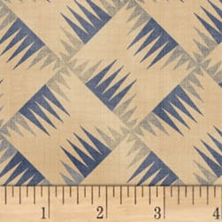Farmhouse Living Backgammon Denim Fabric