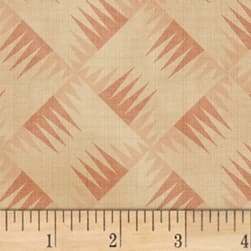 Farmhouse Living Backgammon Old Rose Fabric