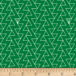 Foundation B.O.M. Zig Zag Clover Fabric
