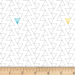 Foundation B.O.M. Zig Zag Paper Fabric