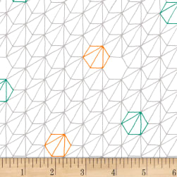Foundation B.O.M. Hexagons Paper Fabric