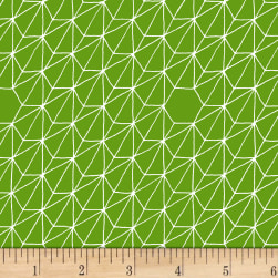 Foundation B.O.M. Hexagons Grass Fabric