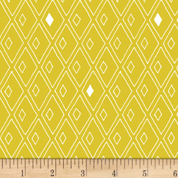 Foundation B.O.M. Diamonds Citrus Fabric