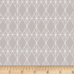 Foundation B.O.M. Kites Silver Fabric