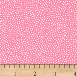 Paint The Town Dots Pink Fabric