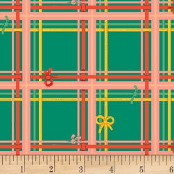 Sugarplum Plaid Spruce Fabric