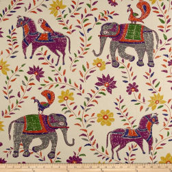 Duralee Mahout Multi Linen Fabric