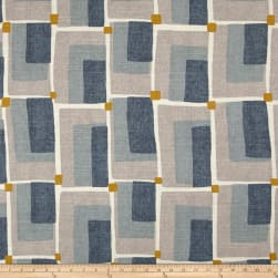 Dwell Studio Aldo Geo Aquatint Fabric