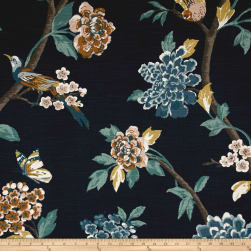 Dwell Studio Helene Floral Admiral Fabric