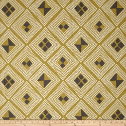 Dwell Studio Mali Kuba Gold Fabric