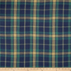 Laura & Kiran Forsyth Plaid Soft Blues Fabric