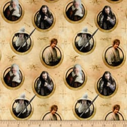 Lord of the Rings Hobbit Characters in Circles