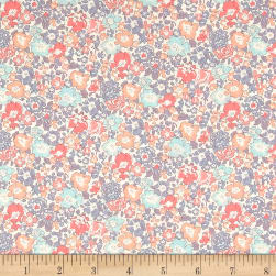Liberty Fabrics Tana Lawn Michelle Grey Fabric