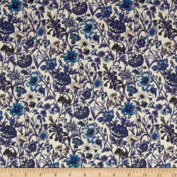 Liberty Fabrics Tana Lawn Rachel Purple Fabric