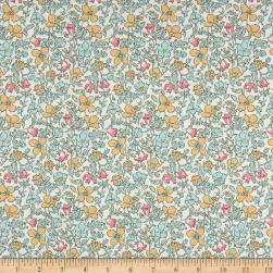 Liberty Fabrics Tana Lawn Meadow Light Green Fabric