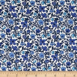 Liberty Fabrics Tana Lawn Meadow Blue Fabric