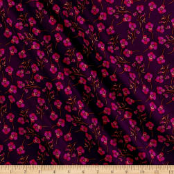 Liberty Fabrics Tana Lawn Ros Purple Fabric
