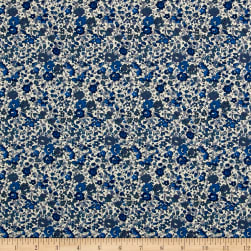 Liberty Fabrics Tana Lawn Emma and Georgina Blue/Grey
