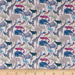 Liberty Fabrics Tana Lawn Queue for the Zoo