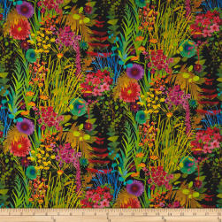 Liberty Fabrics Tana Lawn Tresco Black Multi Fabric