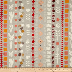 Cotton + Steel Sunshine Collage Grey Fabric