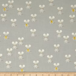 Cotton + Steel Sunshine Little Friends Natural Fabric