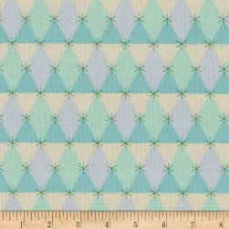 Cotton + Steel Flutter Prism Aqua Fabric