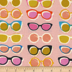 Cotton + Steel Poolside Shade Pink Fabric