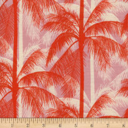 Cotton + Steel Poolside Palms Pink Fabric