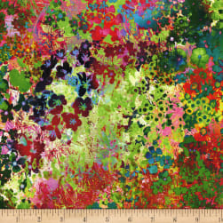 Arabesque Floral Impressions Digital Wildflower Fabric