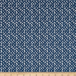 Premier Prints Riverbed Slub Canvas Regal Navy Fabric