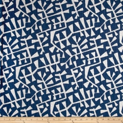 Premier Prints Correos Slub Canvas Regal Navy Fabric