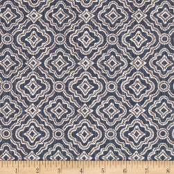 Premier Prints Kennedy Slub Canvas Cello Blue Fabric