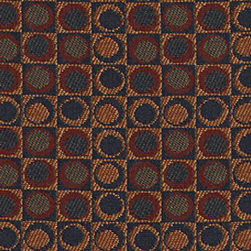 Abbey Shea Arden Jacquard Redwood Fabric