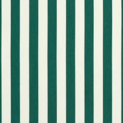 Sunbrella Stripes Mason Forest Green Fabric