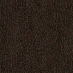 Abbey Shea Oklahoma Faux Leather Brown Fabric
