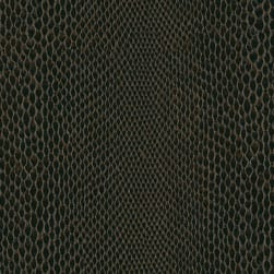 Abbey Shea Snakeskin Vinyl Chocolate Fabric