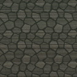 Crypton Honeycomb Jacquard 9006 Gunmetal Fabric