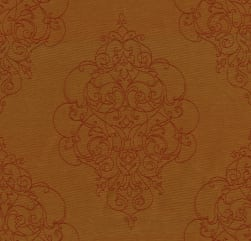 Crypton Ornamental Jacquard Pumpkin Fabric