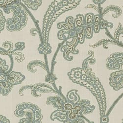 Abbey Shea Outdoor Hothouse Ice Blue Fabric