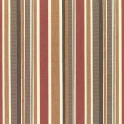 Sunbrella Stripes Brannon Redwood Fabric