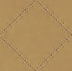 Abbey Shea Basilica Faux Leather Straw Fabric