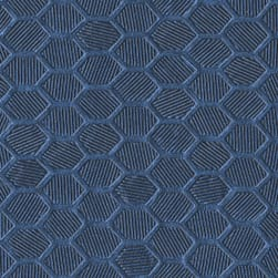 Morbern Hexx Vinyl Dark Blue Fabric