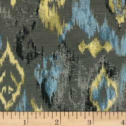 Abbey Shea Lawson Jacquard 3003 Bedazzled Blue Fabric