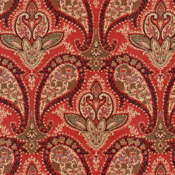 Abbey Shea Marie Jacquard Ruby Slipper Fabric
