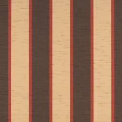 "Sunbrella 46"" Awning Stripe Premium 4773-0000 Bisque Brown"