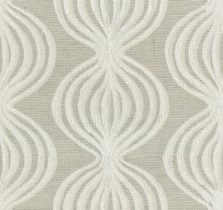 Abbey Shea Belize Jacquard Cream Fabric