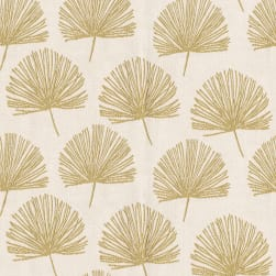 Abbey Shea Sandrine Jacquard Gold Fabric