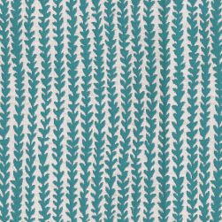 Abbey Shea Chipper Jacquard Turquoise Fabric
