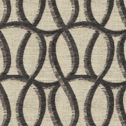 Abbey Shea Bailey Jacquard Graphite Fabric